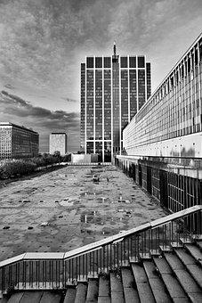 Brussels, Tower, Building, Finance, Belgium