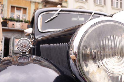 Auto, Automobile, Car, Chrome, Classic, Old, Retro