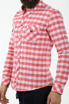 Male, Shirt, Red, Fashion, Design, Pants, Clothing, Man