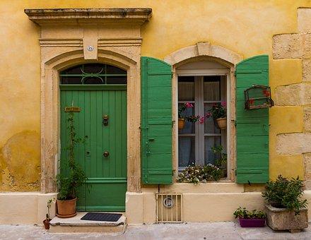 France, Door, Input, Architecture, Building, Wood