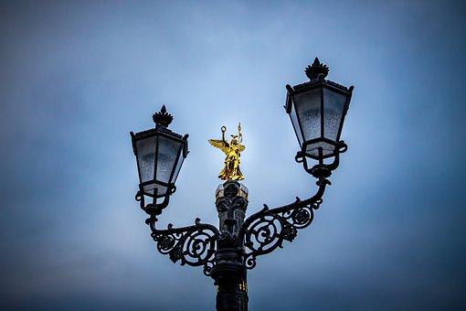 Siegessäule, Gold Else, Angel, Berlin
