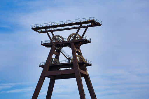 Raw Materials, Industry, Headframe, Mine, Historically