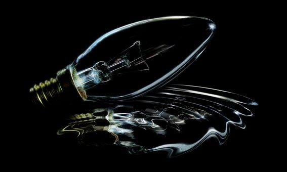 Light Bulb, Lamp, Technology, Glass