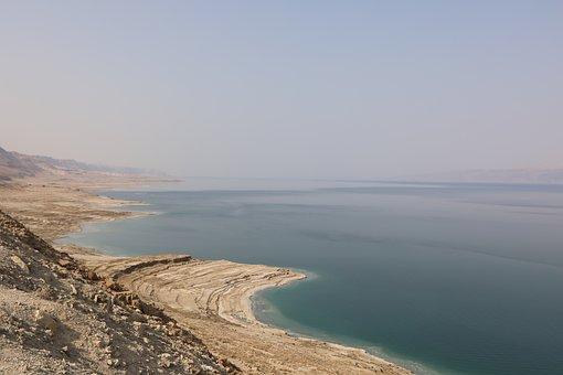 Sea, Salt, Water, Israel, Dead Sea, Nature, Landscape