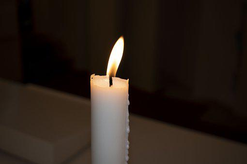 Candle, Light, Dark, Twilight, Candles, Flame
