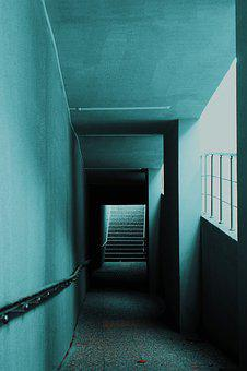Corridor, Light, Road, Architecture