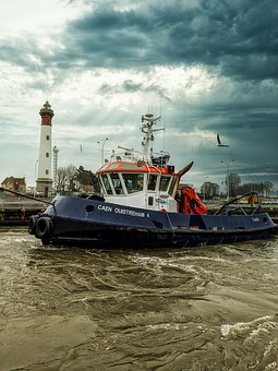 Tug, Port, Ship, Maritime, Water, Transport, Freight