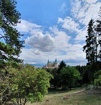 Holiday, Castles, Nature, Tourism