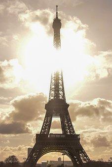 Eiffel Tower, Landmark, Paris, France, Tower, Monument