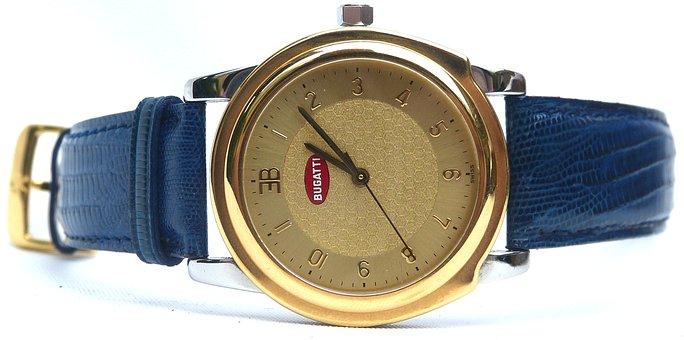 Clock, Bugatti, Jewellery, Wrist Watch, Rolex, Bracelet