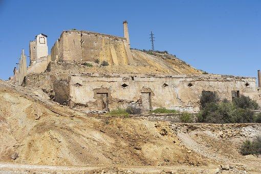 Spain, Spanish, Europe, Landscape, Mines, Roman