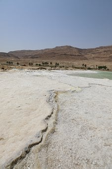 Sea, Salt, Water, Israel, Dead Sea