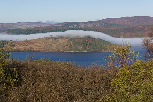 Scotland, Fog, Hole, Lake, Landscape, Nature, Clouds