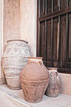 Sound, Pots, Jugs, Historically, Old, Craft, Vase