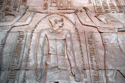 Egypt, Edfu, Temple, Ablution, Pharaoh, Antique