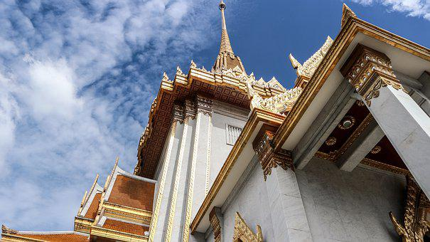 Temple, Temple Tower, Thailand, Home