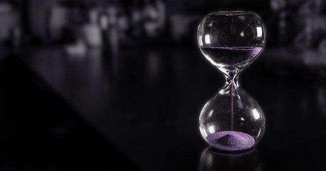 Time, Hourglass, Sand, Now, Glass, Retro