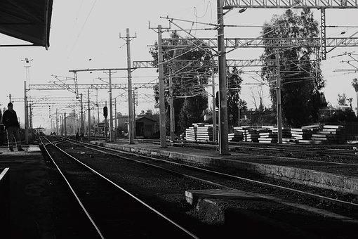 Train, Ray, Rails, Railway, Travel, Transport, Track