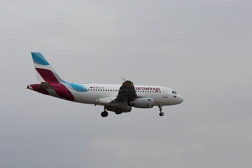 Eurowings, Germany, Lufthansa, Fly, Flight, Sky, Travel
