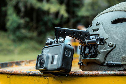Camera, Helmet, Soldier, Gopro, Photography, Video