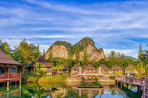Thailand, View, Sky, Summer, Landscape