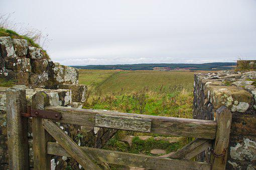 Hadrian'S Wall, Wall, Romans, Fort