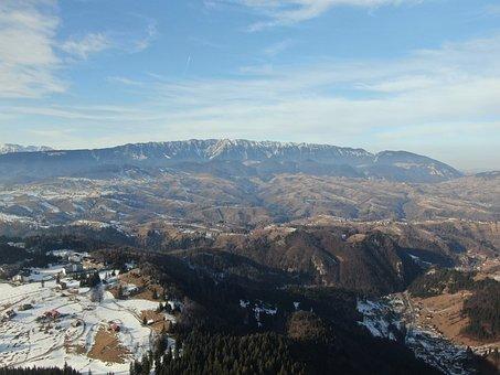 Winter, Romania, Mountain, Landscape, Mountains