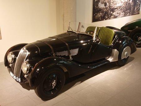 Bmw, 1938, Car, Automobile, Engine, Internal Combustion