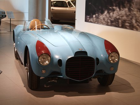 Lancia Spyder, 1953, Car, Automobile, Engine