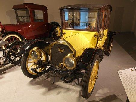 Regal Model Coupe, 1912, Car, Automobile, Engine