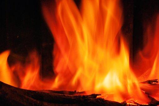 Flame, Fire, Ablaze, Alight, Background, Blazing, Blur