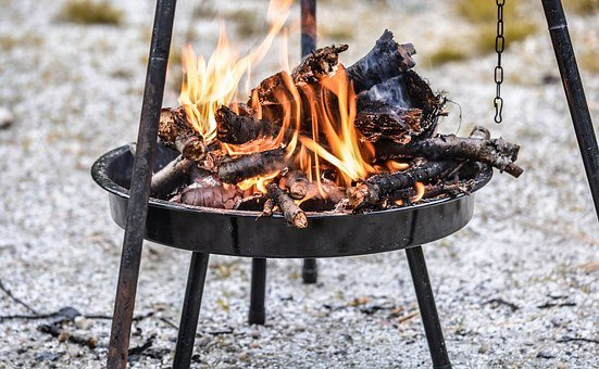 Flames, Fire, Hot, Burning, Heat, Burn, Barbecue, Grill
