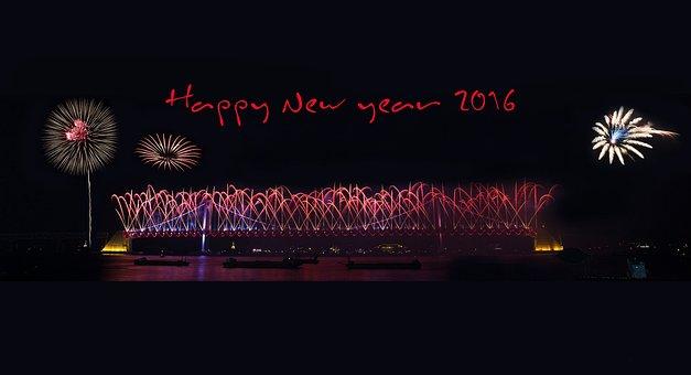 Byeongsinnyeon, 2016, New Year Greeting, Flame