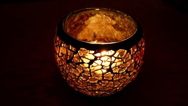 Windlight, Candle, Light, Candlelight, Decoration
