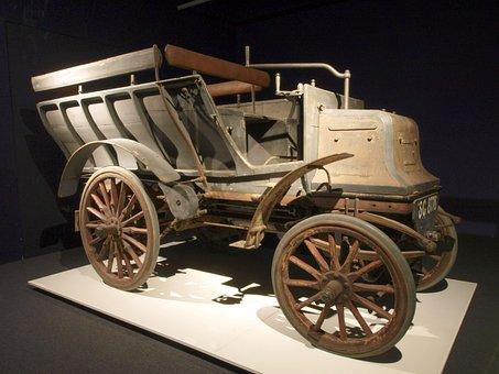 Daimler, Car, Automobile, Engine, Internal Combustion