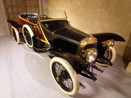 Panhard And Kevassirm, 1912, Car, Automobile, Engine