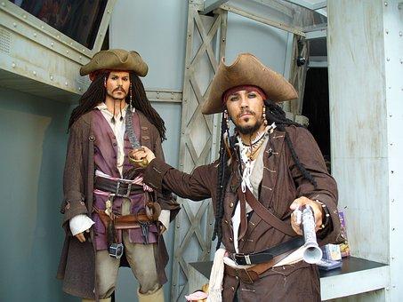 Pirate, Movie, Caribbean, Bandit, Character, Costume