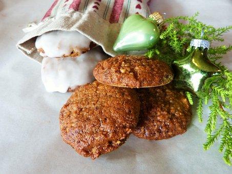 Gingerbread, Elisen Gingerbread, Advent, Christmas