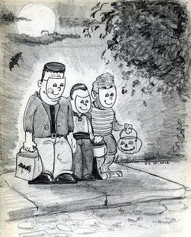 Halloween, Halloween Party, Costume, Scary, Seasonal