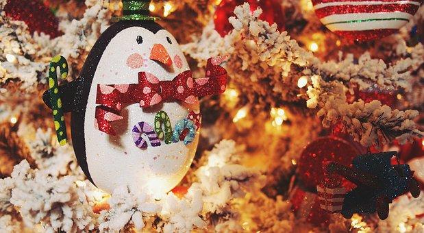 Christmas, Pinguin, Toy, Xmas, Decor, Holiday