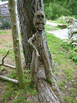Statue, Decoration, Wooden, Travel