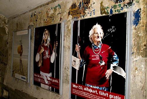 Poster, Wall, Vandalism, Vintage, Old, Degenerated