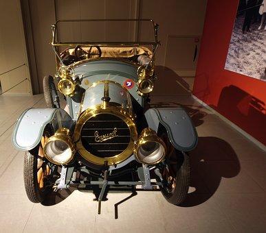 Eijinsk, 1912, Car, Automobile, Engine