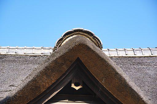 Japan, Rural Houses, Farmer, Roof, Wooden, Tradition