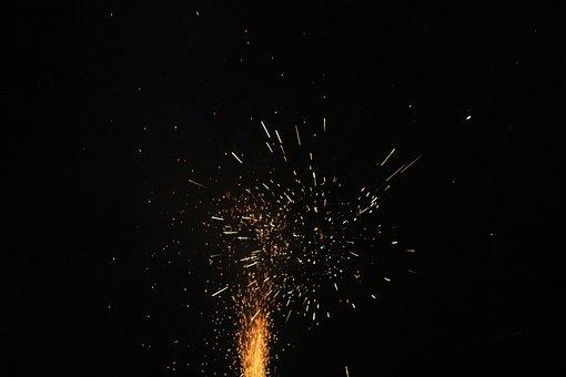 Fireworks, Pop Stuff, Light Effect, Fire, To Pop