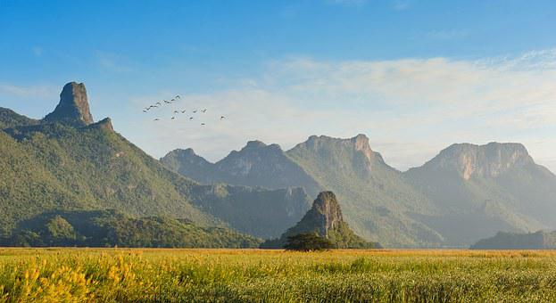 Asia, Mountains, Geography, Beautiful, Beauty, Azure