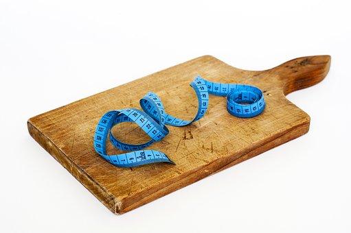 Diet, Food, Loss, Health, Dieting, Tape, Eating