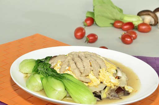 Shiitake Mushroom, Meat Soup, When The Vegetables