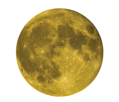 Moon, Full Moon, Png, Yellow, Night, Dark, Close