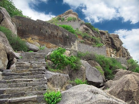 Ruins, Ancient, Mountain, Indian, Decayed, Historical